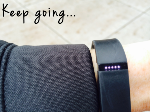 fitbits lights with words