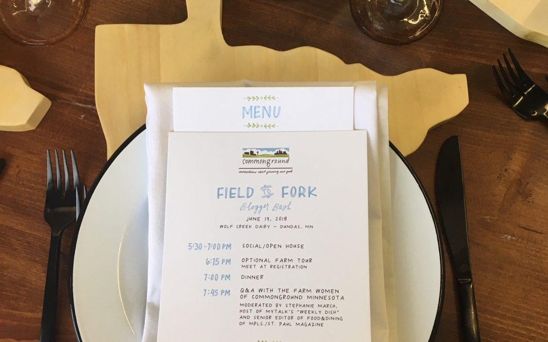 Farm to Fork Recap