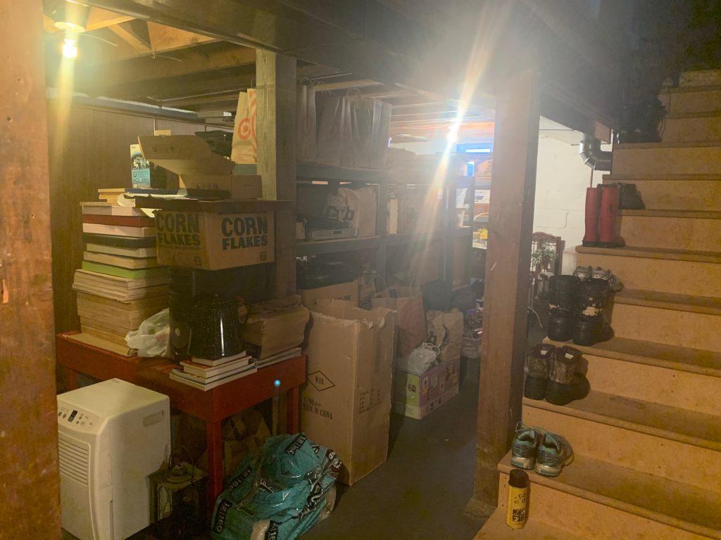 clutter basement